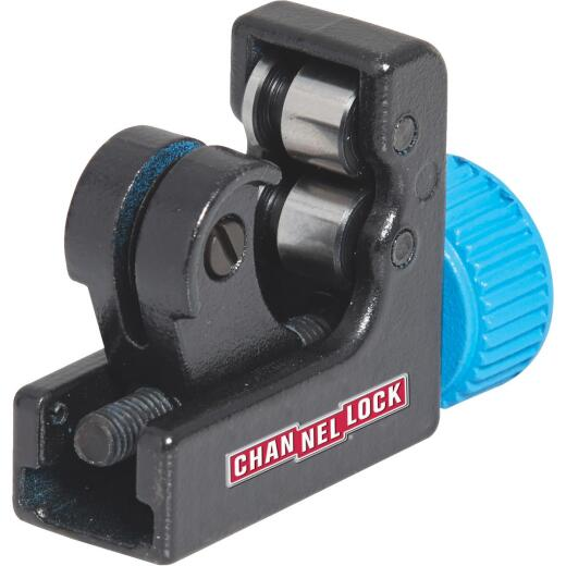 Channellock Mini Tubing Cutter, Up to 1-1/8 In. Pipe Capacity