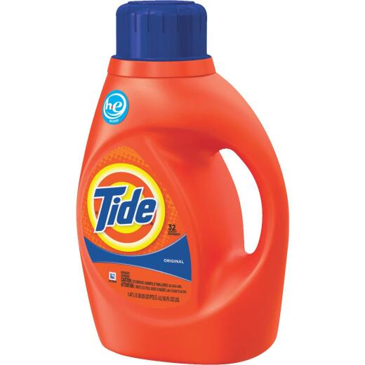 Tide 50 Oz. 32 Load HE Liquid Laundry Detergent