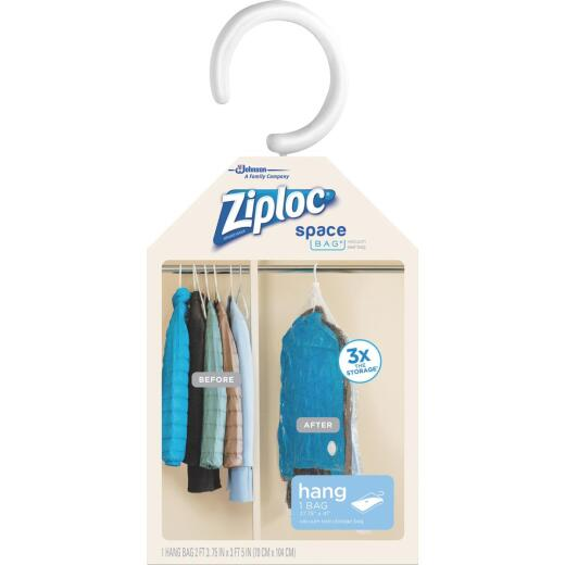 Ziploc Vacuum Seal Hanging Space Bag