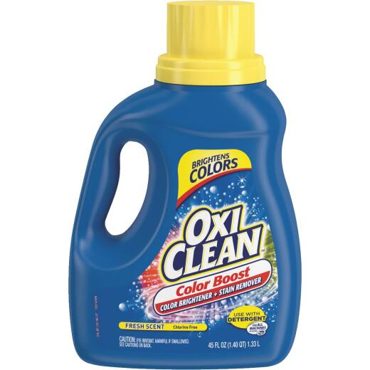 OxiClean 45 Oz. Color Boost Color Brightener plus Stain Remover Liquid