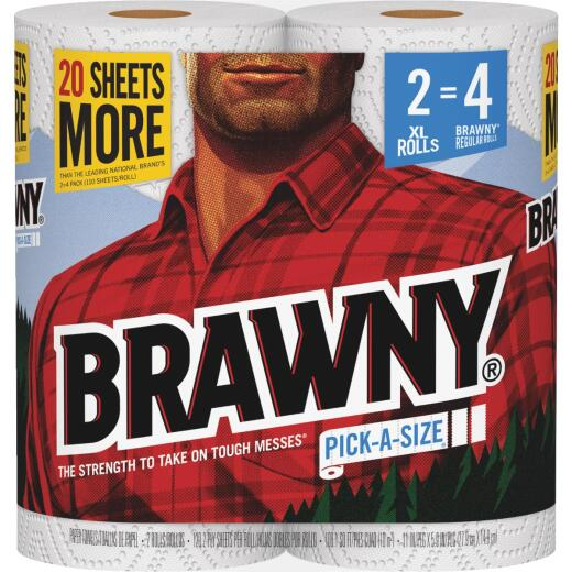 Brawny XL Pick-A-Size Paper Towel (2 Roll)
