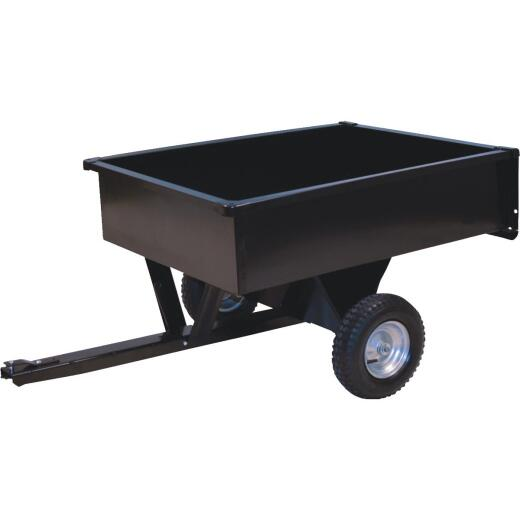 Precision 7 Cu. Ft. 400 Lb. Steel Tow-Behind Garden Cart