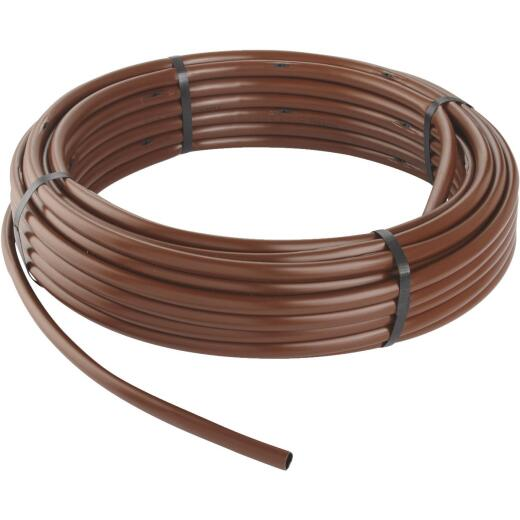 Rain Bird 1/2 In. X 100 Ft. Brown Plastic Emitter Drip Tubing