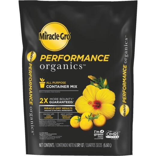 Miracle-Gro Performance Organics 6 Qt. All Purpose Container Mix (California Only)