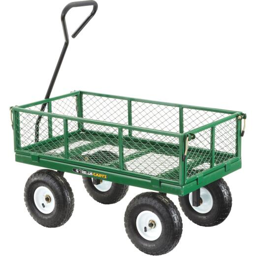 Gorilla Carts 3 Cu. Ft. 400 Lb. Steel Utility Cart