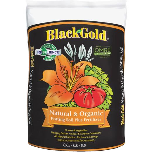 Black Gold 8 Qt. All Purpose Natural & Organic Potting Soil