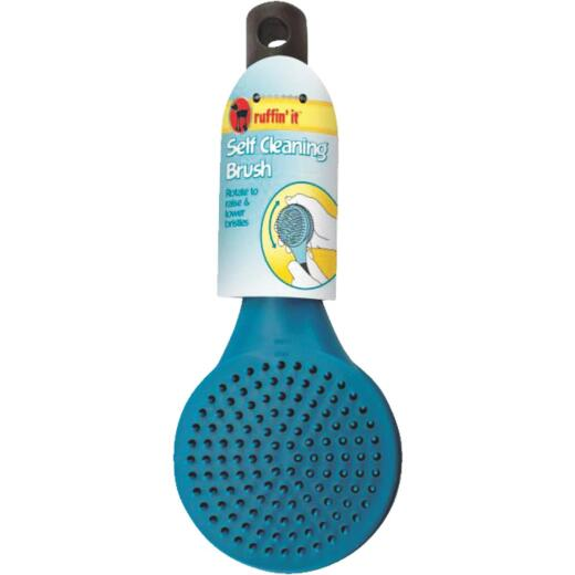 Westminster Pet Ruffin' it Plastic Self-Cleaning Pet Brush