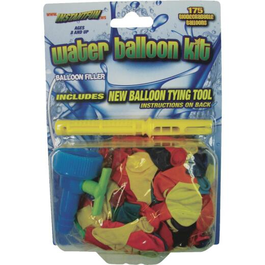 Water Sports Water Balloon Refill Kit with 175 Balloons
