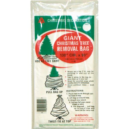 Holiday Trims 90 In. L. x 144 In. Dia. Christmas Tree Removal Bag